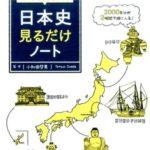 歴史の受験勉強におすすめ「日本史見るだけノート」イラストでざっくり学習