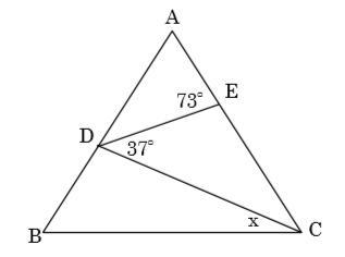 三角形角度