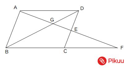 平行四辺形の面積比標準問題
