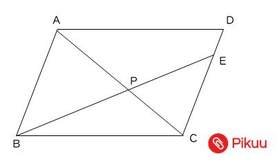 平行四辺形の面積比問題図