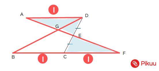 平行四辺形の面積比標準解説
