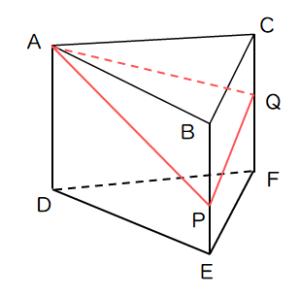 切断された体積の問題2