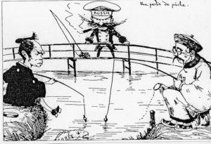 日清戦争風刺画